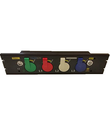 Powersafe Prefabricated Rack Mount Powersafe Inlet Box 4 Pole 1