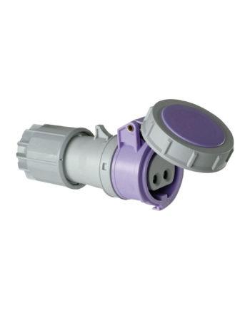 16a 2 Pin Extra Low Voltage Straight Socket 24v Ip67 Pce 0622v