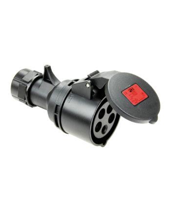 32a 5 Pin Socket Black Pce 225 6xs