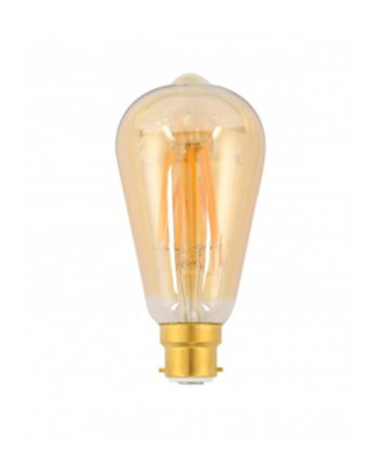 Ge Lighting Led Bulb Heritage Pilot 7.5 Watt Dim Warm White Bc