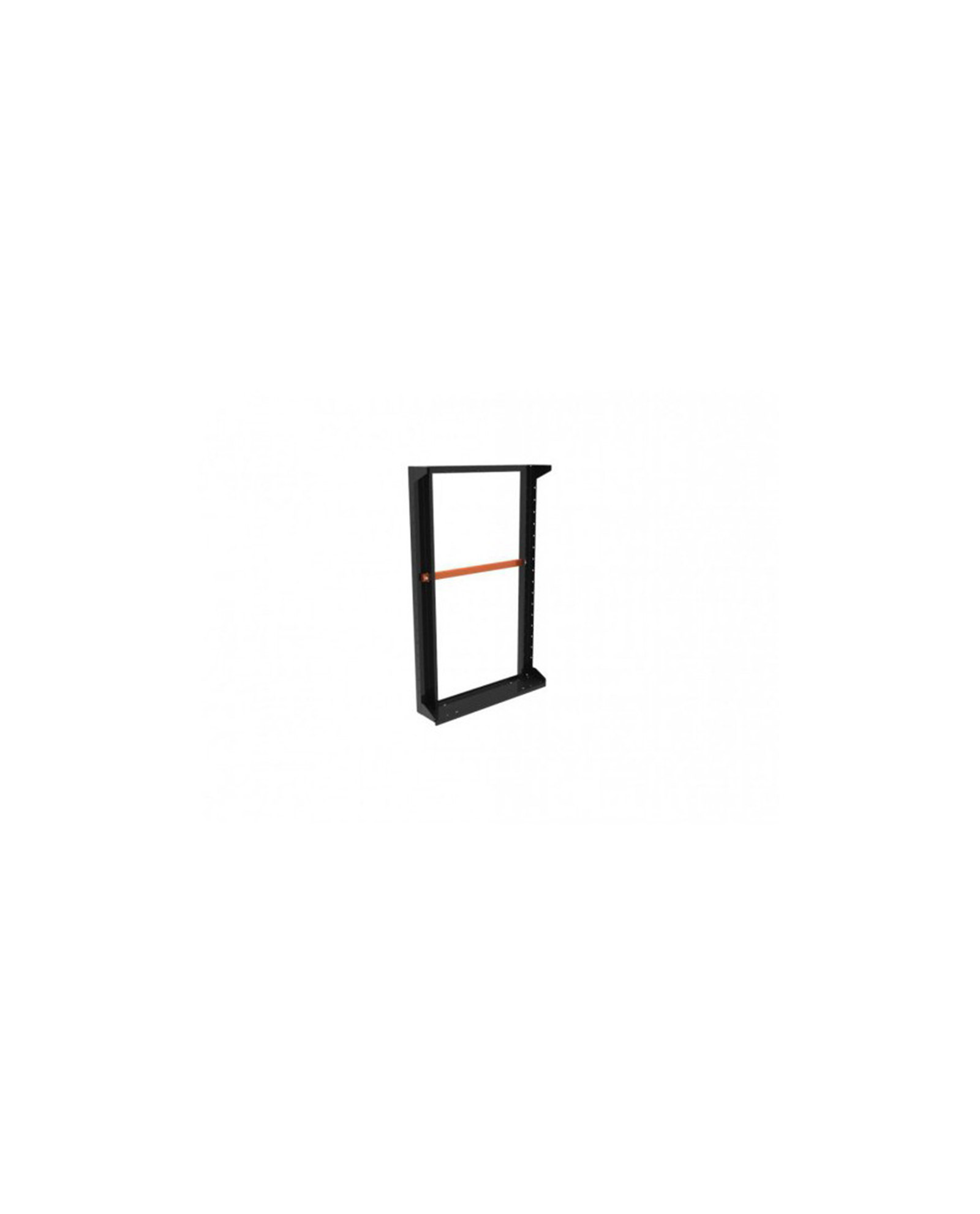 Admiral Slim Line Panel Height 110 Black With Handle