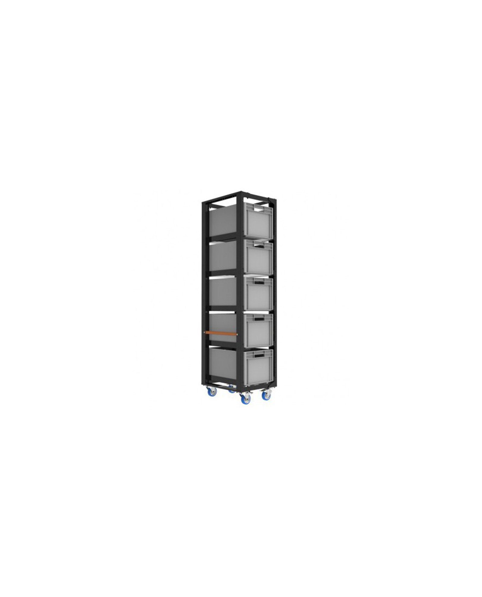 Admiral Staging Storage Cart H203 With Crates