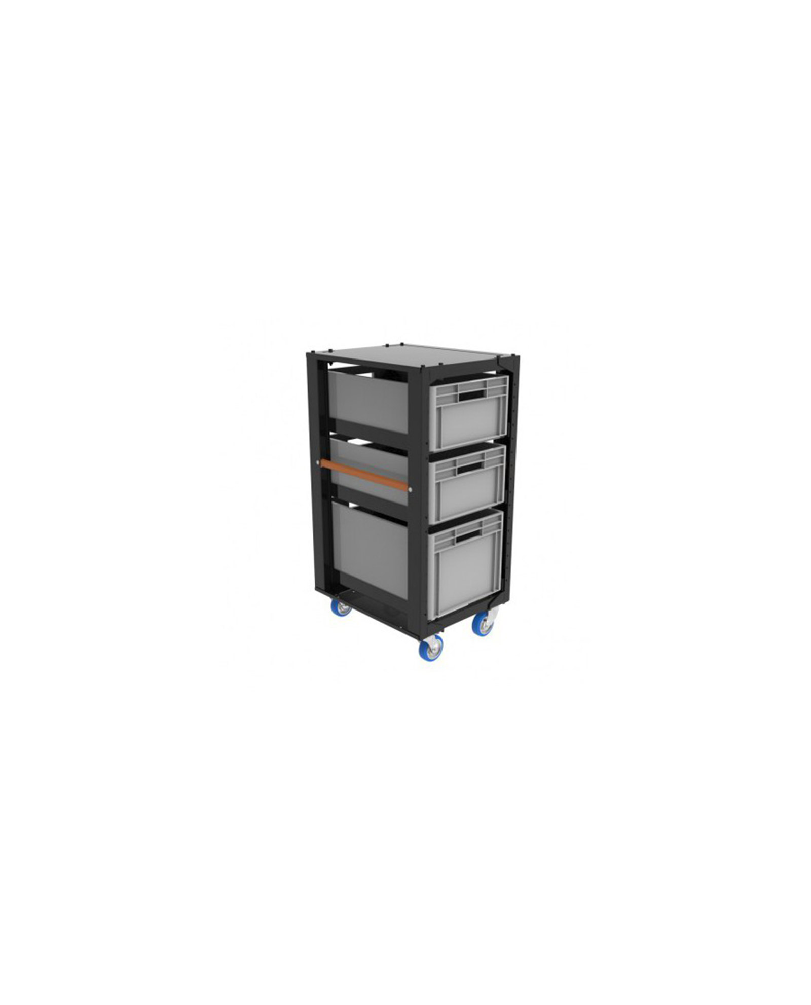 Storage Cart H110 With Crates And Top Lidjpg