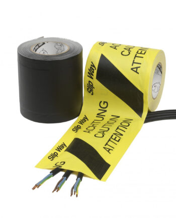 Cable Management Tapes Slipway Black Yellow 1