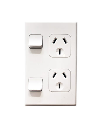 Pdl 600 Series 692 Double Vertical Socket 10amp