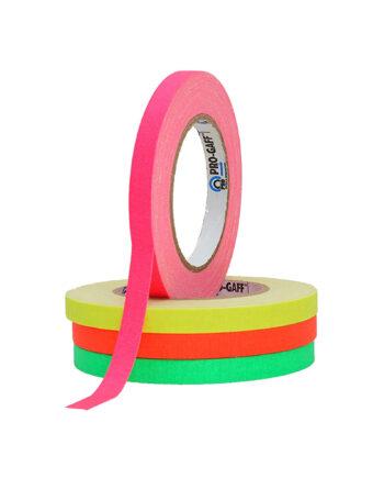 Pro Gaff Spike Gaffa Tape Bundle 12mm Fluorescent Pro Gaff