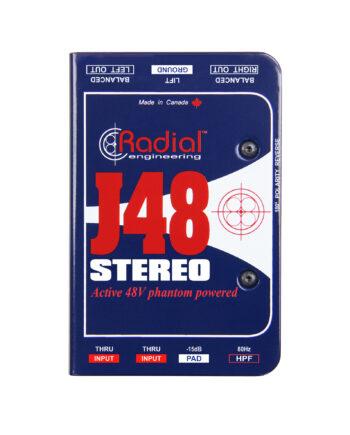 Radial J48 Stereo Premium Stereo Active Di 1