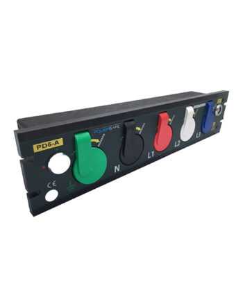 800a Prefabricated Rack Mount Powersafe Inlet Box 5 Pole
