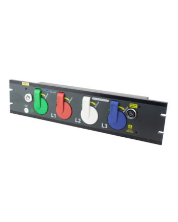 800a Prefabricated Rack Mount Powersafe Outlet Box 4 Pole