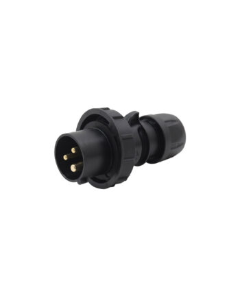 Pce 0132 6x 16a 3 Pin Plug Black Ip67