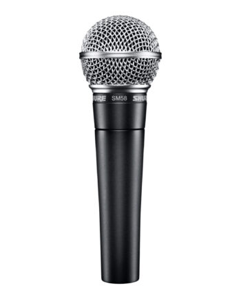 Shure Sm58s Live Vocal Microphone 1