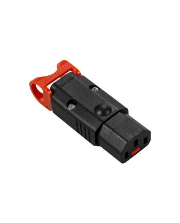 C13 Iec Lock + Rewireable