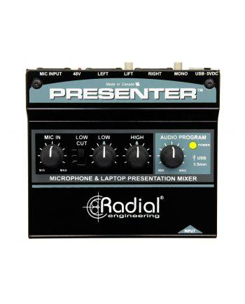 Radial Presenter Audio Presentation Mixer 1
