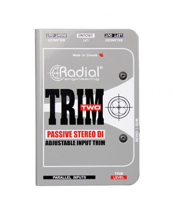 Radial Trim Two Passive Stereo Direct Box 1