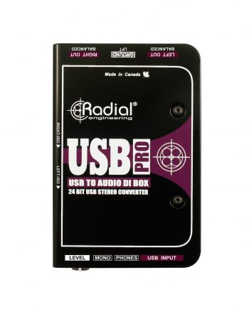 Radial Usb Pro Stereo Usb Di 1