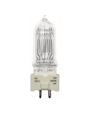 T26 Theatrical Lamp Ge 650w 88463 240v
