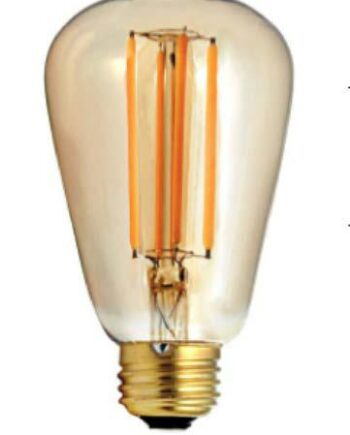 NEW Firefly 24V LED Filament Lamp 4.5w E27 Dimmable