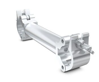 Milos Cell 209 250mm Extended Parallel Coupler, 48-50mm 500KG Rated Aluminium