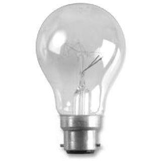 25W BC Clear GLS Lamp (Festoon) Crompton Harlequin