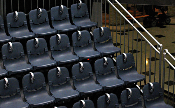 Concertina Seating / Staging System - Customised to Your Venue
