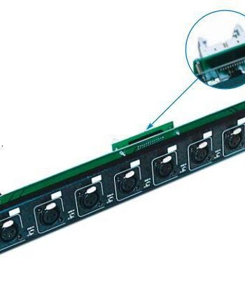 LK AD8 IN GL - Input Module for the AD Series c/w Ground Lift Switch per input