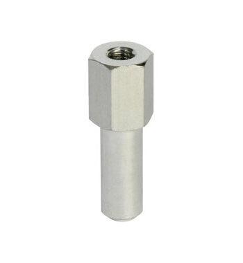 Doughty 16mm Female Spigots M10 Spigot Aluminium T73350