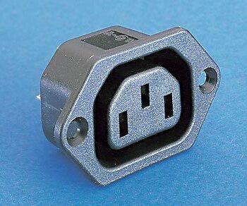 Panel Female IEC Plug Bulgin PX0675
